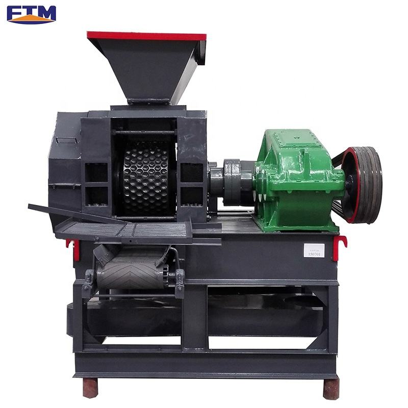 BBQ used 3 - 5 tph hyd automatic coal powder briquetting machine briquette extruder in China