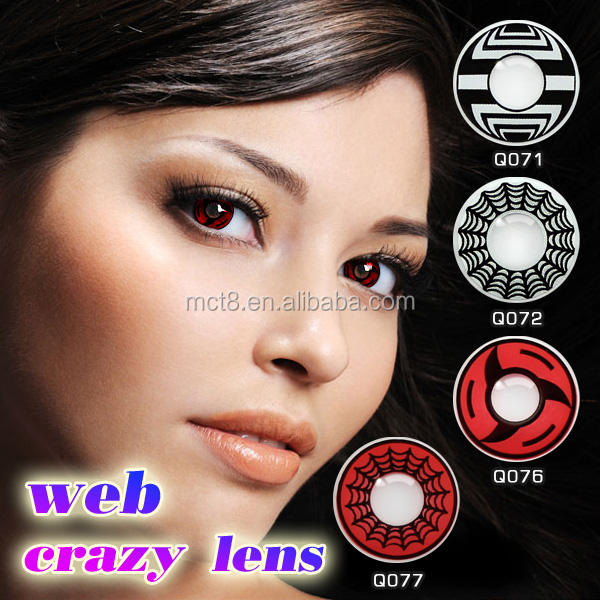 Uzumaki Naruto Animation Cosplay carnival ice Contact Lenses