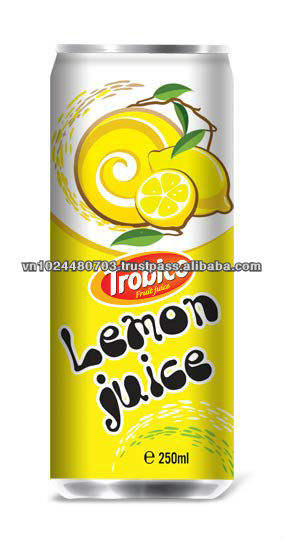 лимонный сок в 250мл алюминий моёет