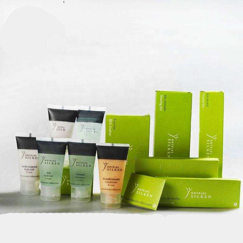 Factory Supplying luxury hotel toiletries hygiene kit supplier amenity set
