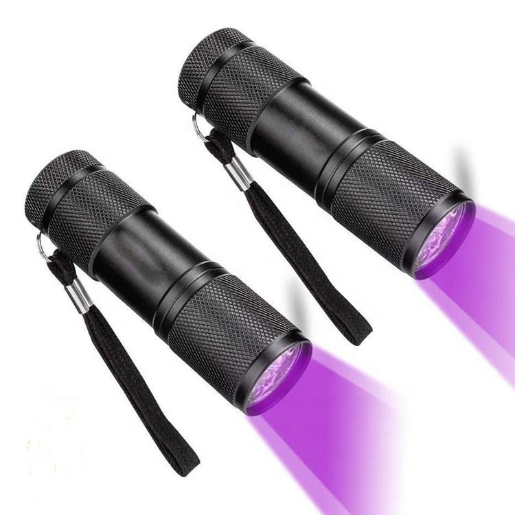<span class=keywords><strong>Senter</strong></span> UV Mini Ultra Violet, <span class=keywords><strong>Senter</strong></span> Blaclight 9 Led Murah