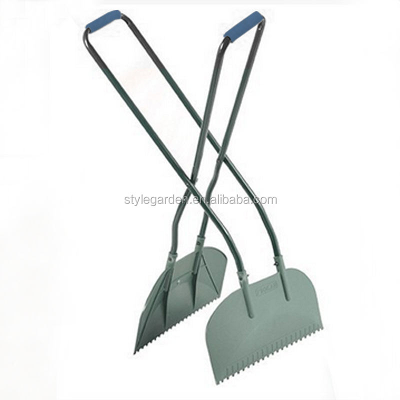 Long Handle Garden Plastic Leaf Grabber Rake