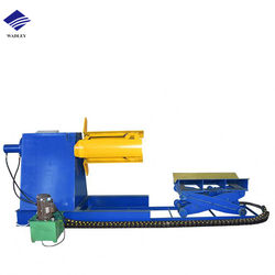 Hydraulic Steel Sheet Metal Decoiler Machine with Press Handling Equipment