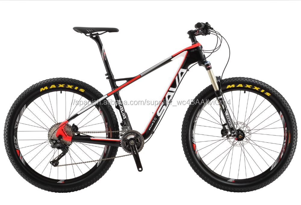 Alta Calidad peso ligero de Carbono Mtb Cuadro de la Bicicleta, Bicicleta de Montaña del Carbón de China