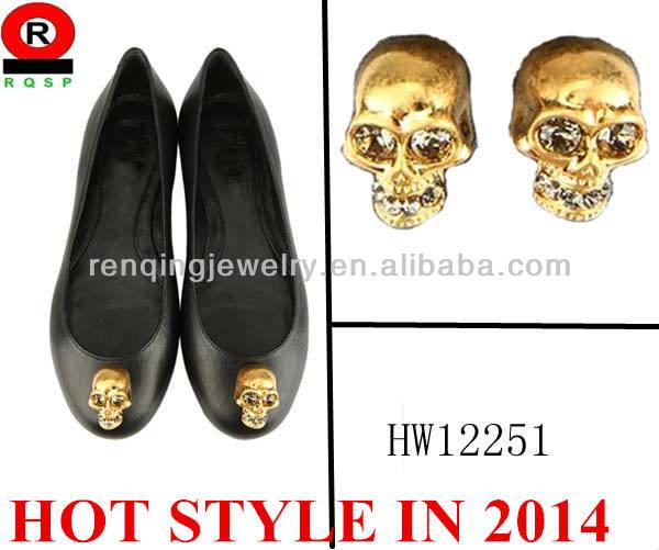Hw12252 dame. crâne de mode boucle de chaussure