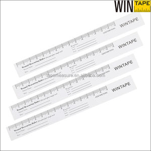 15cm White Disposable Wound Custom Paper Ruler Folding Measuring Medical Wound Ruler