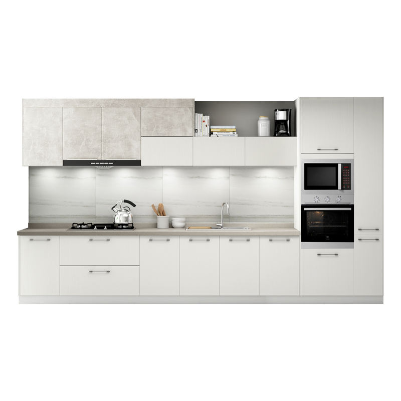 lacquer finished modern kitchen cabinet for ready kitchen made in China