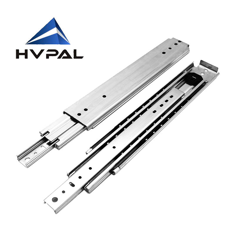 Factory Supply heavy duty For America slide industrial Drawer Glides 500lbs drawer Slide Rail Telescopic Heavy Duty Slide