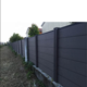 Kelaiwood/WPC/Grey/Brown/ivory/Teak/easy-installing backyard fence panels
