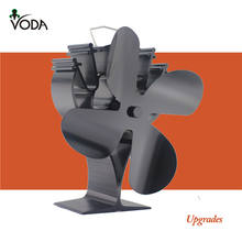Voda home heater 4 Blades self stove fan heat power fan
