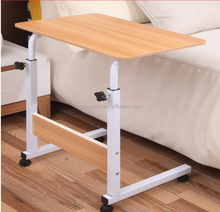 Lazy laptop table moveable lifting bed Moveable Sofa Side Table