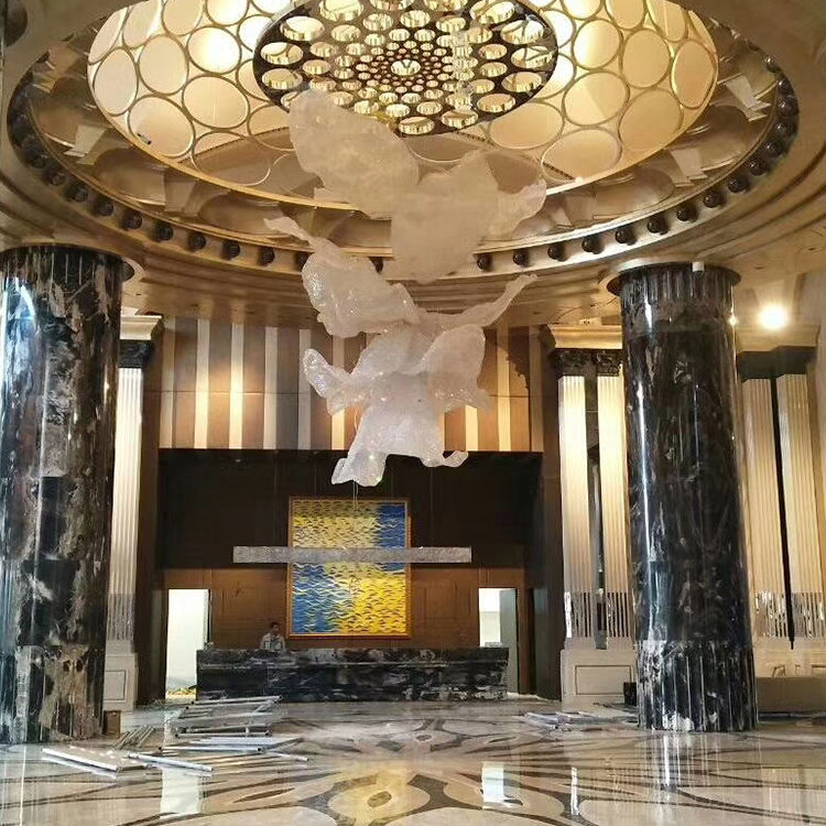 Factory Price Interior Decor Natural Stone Marble Column