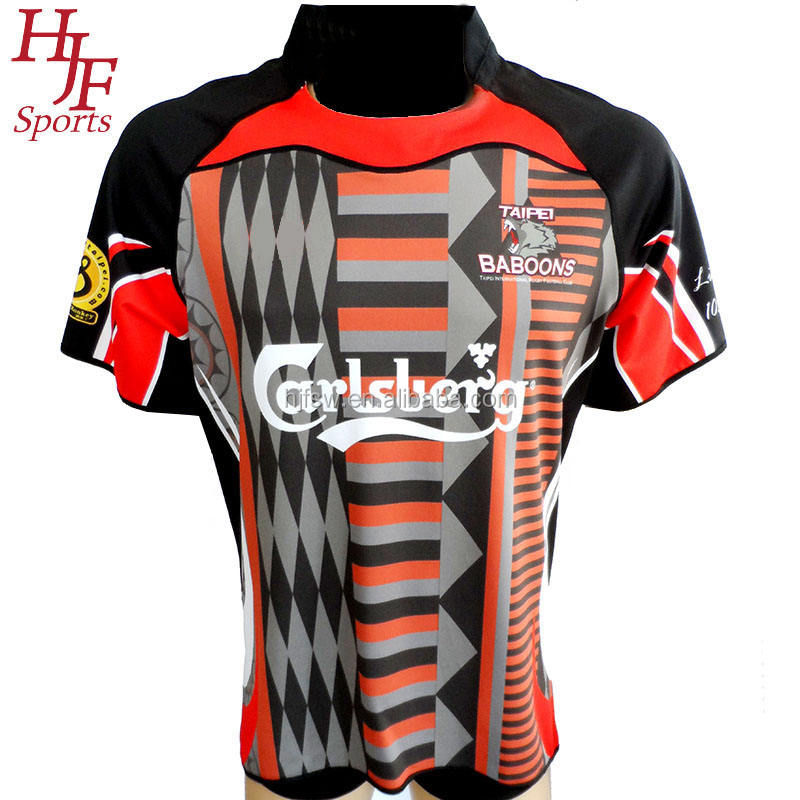 wholesale high quality rugby league jersey professional sublimation custom rugby league jersey