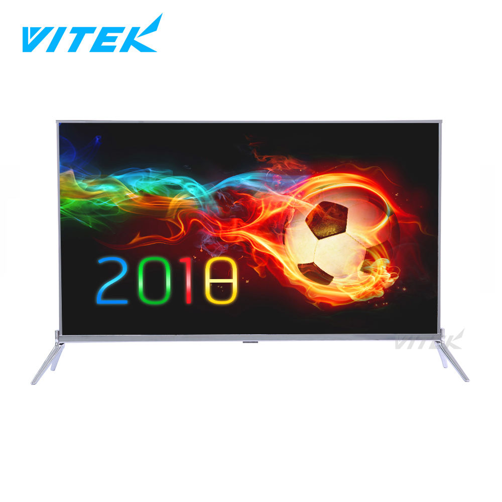 Universale Android 32 40 55 75 pollice LED Smart tv 65 pollice, commercio all'ingrosso UHD 4 K ELED Tv con Wifi Ultra Sottile Smart tv 65