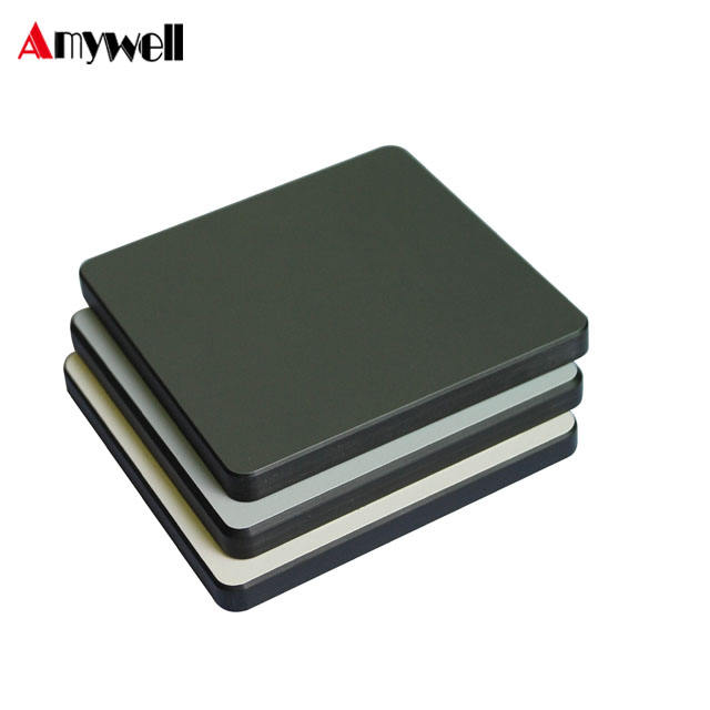 Amywell Wholesale durable solid phenolic laminate HPL black use for chalk board