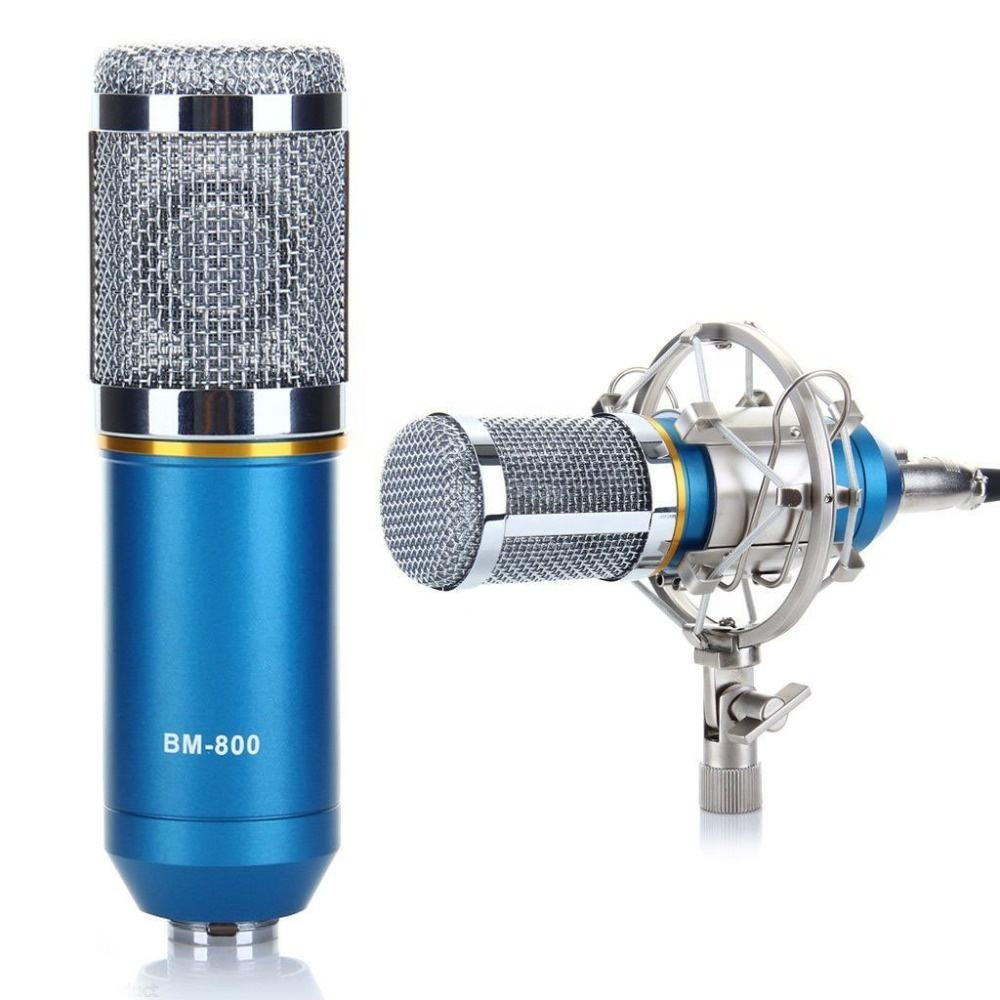 High Quality microphone bm 800,microphone for computers, microphone recording bm 800 blue,black