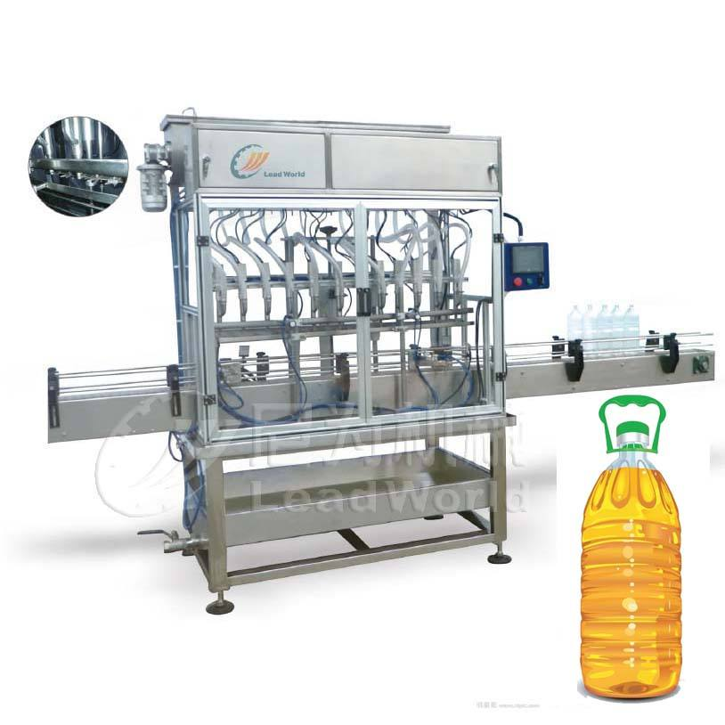 Automatic 4 heads oil food oil filling machine