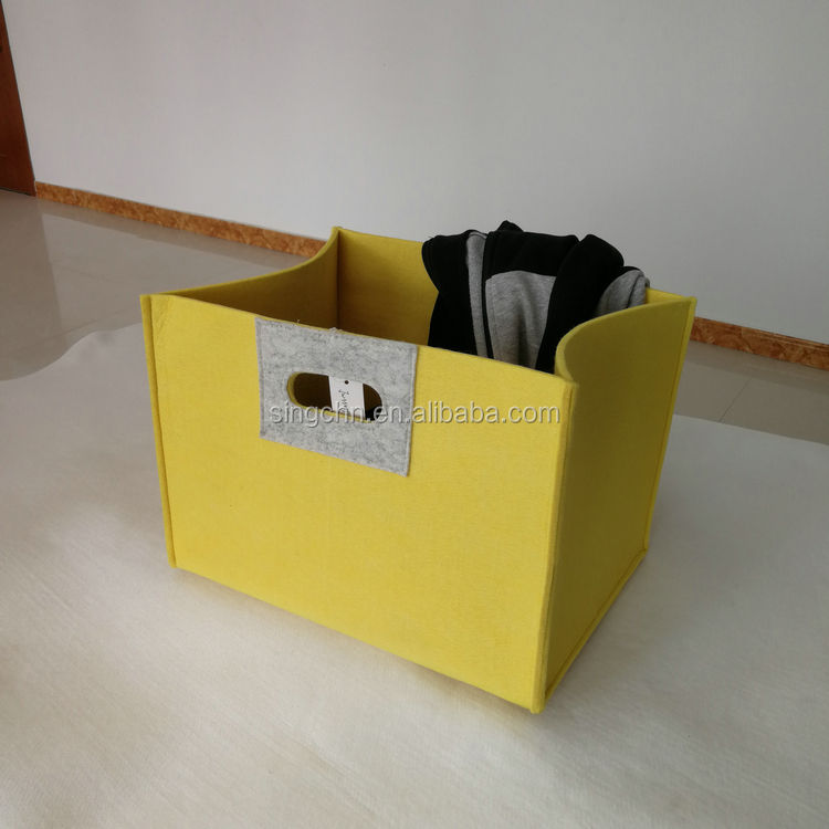 domestic clothing storage and household children toys home felt storage basket