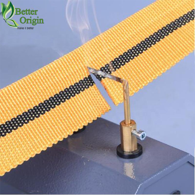 Hot Knife Nylon Webbing Cutter Webbing Cutting Machine For Sale