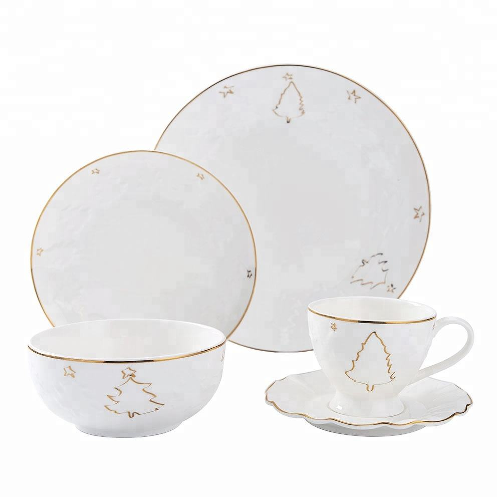 Ceramic Tableware Porcelain Dinner Set