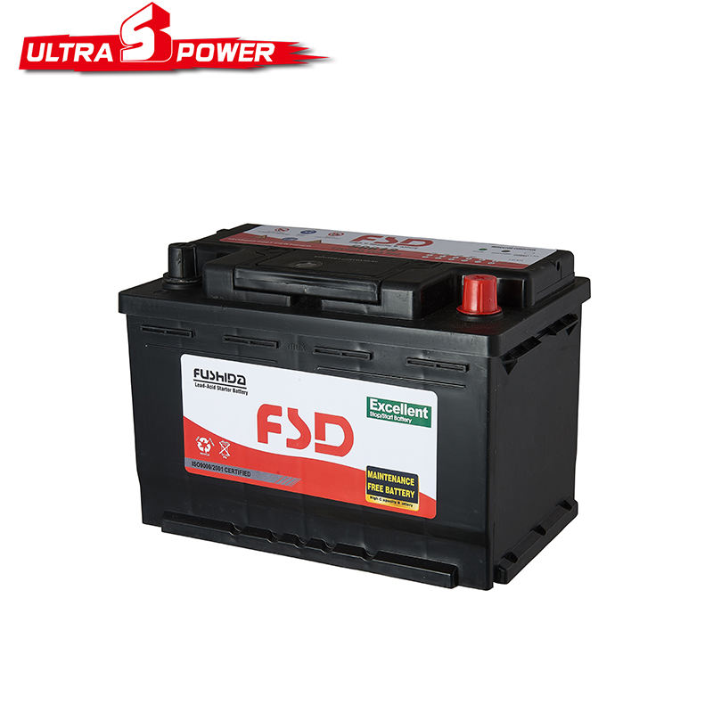 DIN Standard N200 Battery 12V 200Ah Truck Accumulator