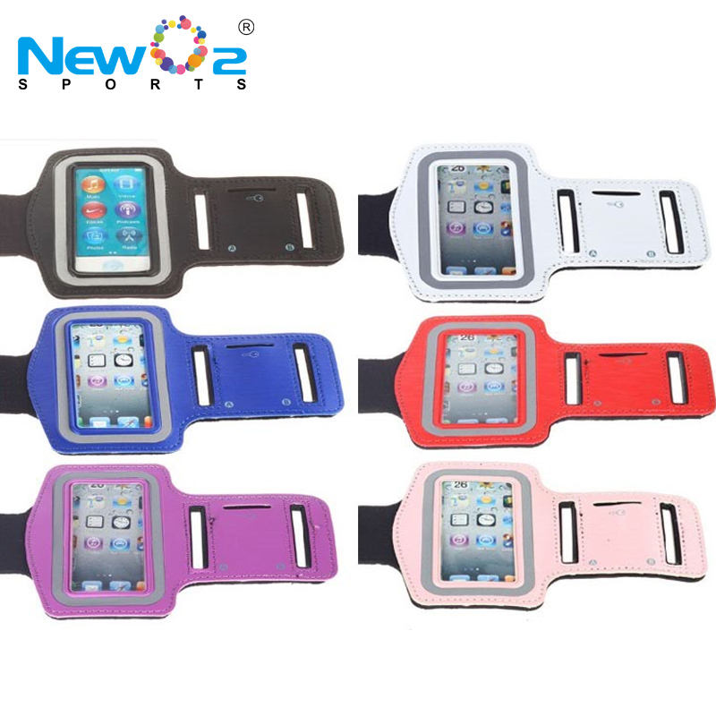 Multi colors for choose size adjustable fashion armband for outdoor sports