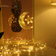 2020 3D motif indoor holiday christmas lights star moon lights led night light china