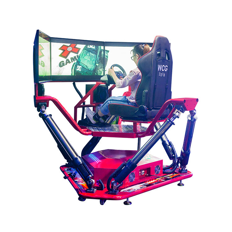 Coin operated simulator arcade games car race game for shopping mall