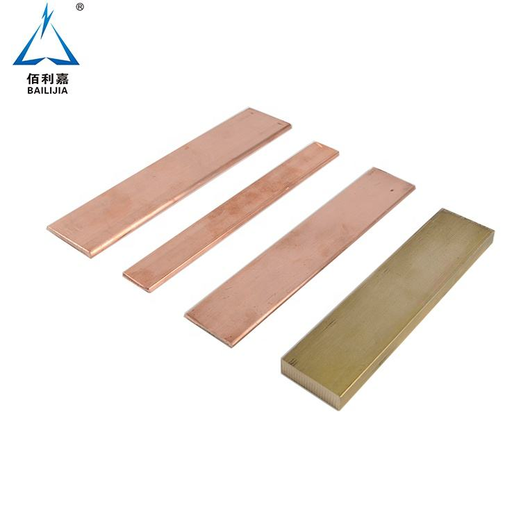 Pure copper electrical bus bar