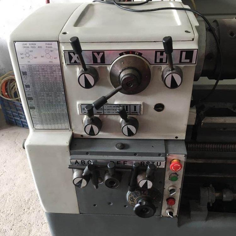 Used Heavy-duty Lathe 기계 대만 6246*1.5 메터 1500 미리메터 Used 굿 condition