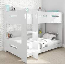 More Popular White Kids Children Bedroom Furniture MDF Wood Bunk Beds Customized