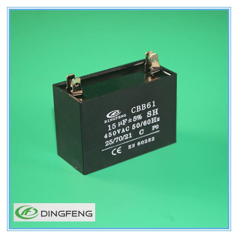 CBB61 металлизированная 4pins конденсатор в цепи переменного тока