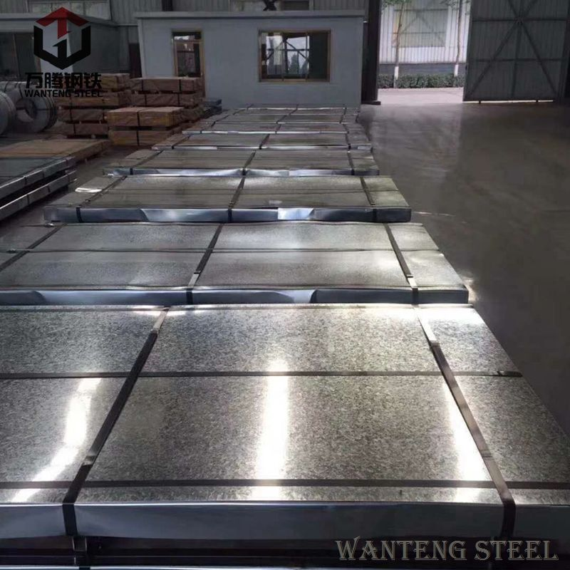 22 gauge galvanized sheet metal Factories use colored corrugated steel sheet