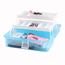 Wholesale Functional Pedicure manicure equipment tool box pedicure kit set with manicure scissors nail sticker For salon