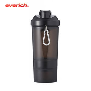 Everich Umoro One Custom Protein Shaker Bottle Logo Printing Water Bottles Sport GYM Plastic Direct Drinking with Lid CE / EU