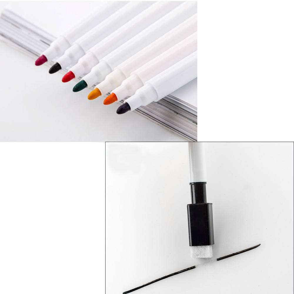 Custom Magnetic Whiteboard Marker Pen with brush,Erasable Magnetic Whiteboard Markers Dry Wipe Markers Pen