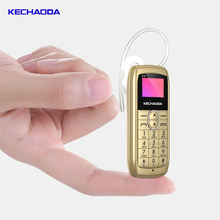 KECHAODA K10 1.4 inch smallest  mobile phone in the world  with  BT dialer BT headset holder