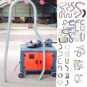 WG-76 Customized model hydraulic/electric round/square pipe/tube bending machine