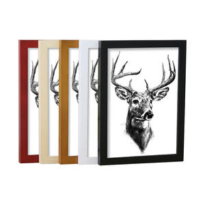A4 Custom Poster or Picture Frame Wall Creative MDF Wood Frame