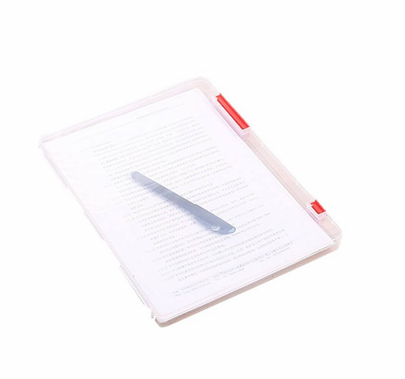 Storage Clipboard A4 Plastic File Folder/Document Box/ Box File