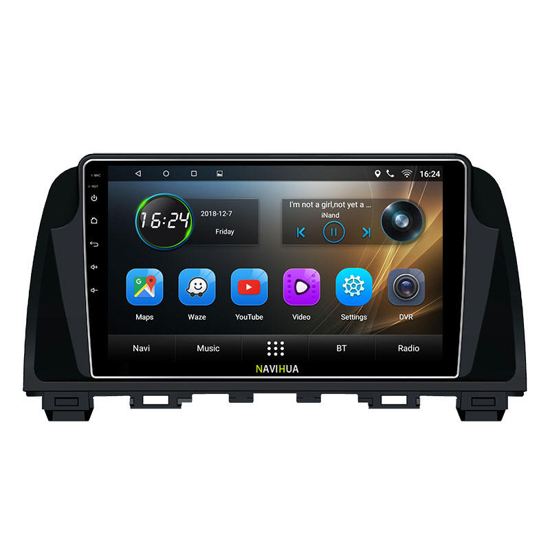 NaviHua 9 pouces android voiture dvd gps navigation joueur pour MAZDA ATENZA 2014