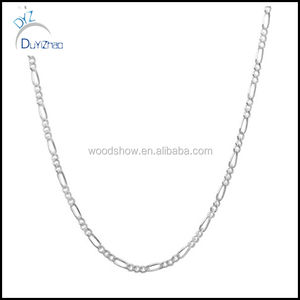 Sterling Essentials Sterling Silver 2mm Figaro Chain