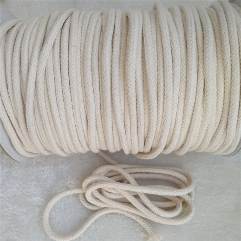 InDom Soft Cotton Rope Cord 2PCS Cotton Rope Multi Purpose Cotton Ropes 10 M//33 Feet 8 MM Craft Rope Thick Cotton Cord Twisted Cord