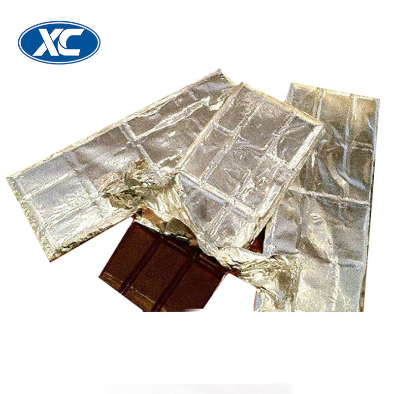 heat resistant custom chocolate bar wrappers packaging aluminum foil