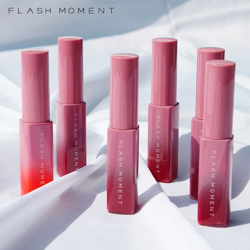 Flash Moment Lip Shine Liquid Lipstick Mostureshine Lip Gloss Private Label Accepted