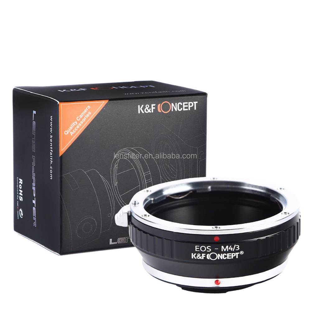 K&F Concept Lens Mount Adapter for Canon EOS EF mount Lens to M4/3 MFT Cameras
