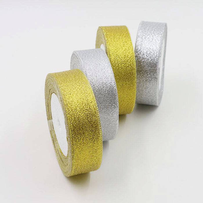 Wholesale gold and silver onions ribbon