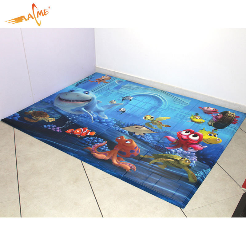 Waterproof baby crawling activity learn to walk non toxic tpu play mat