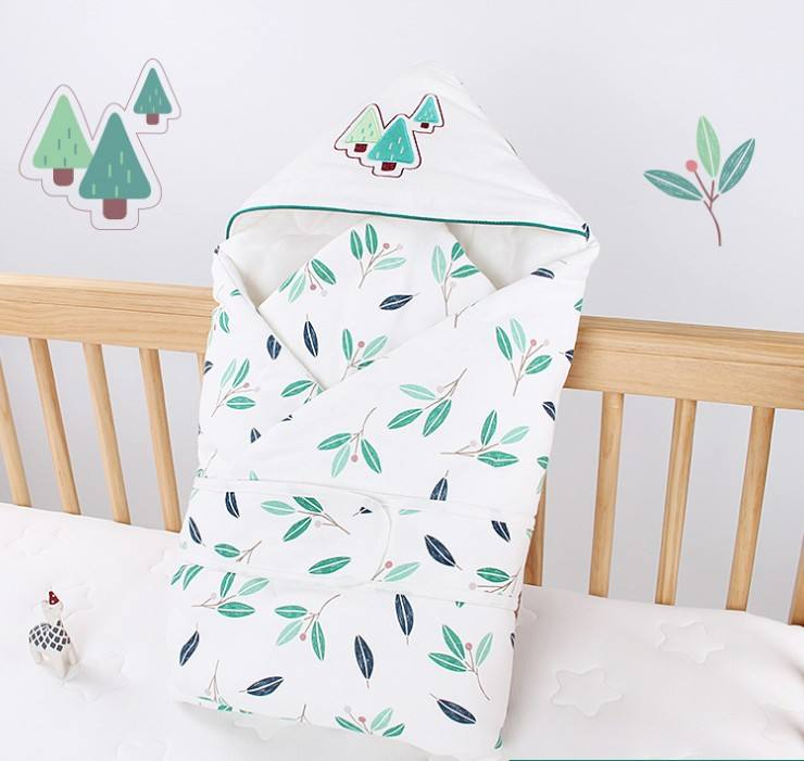 Cute cartoon printed flannel muslin receiving kids baby fleece blanket