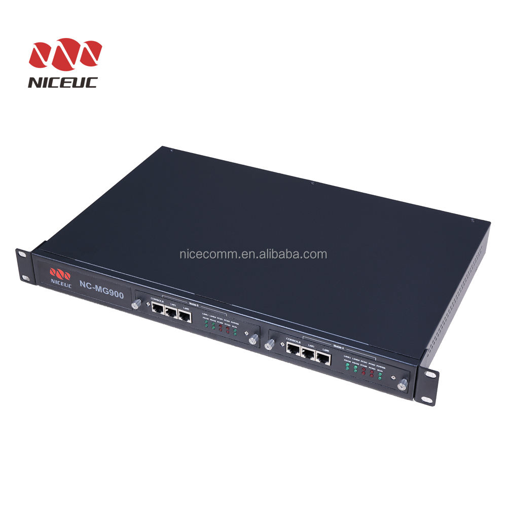 SIP Gateway/VoIP Media Gateway NC-MG900 With SIP ProtocolとSS7、ISDN PRI、V5.2